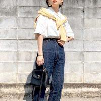 夏の白ポロシャツコーデ【2020】着こなしの幅が広がるファッションをご紹介♪