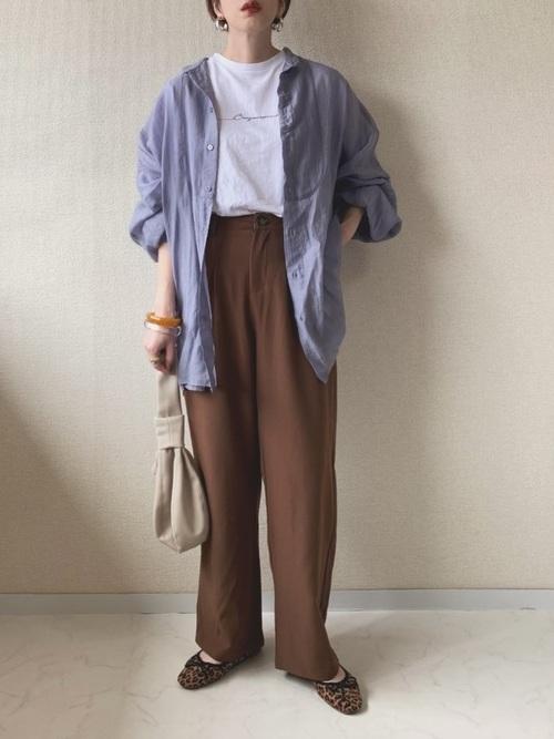 【沖縄】10月におすすめの服装《パンツ》6
