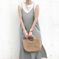 【GU・ユニクロ・しまむら】夏に着たい♪プチプラワンピをピックアップ