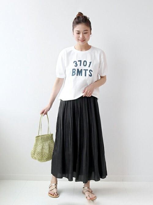 [JOURNAL STANDARD] 【Goodwear/グッドウェア】C/N S/S TEE CUFF AND HEM RIB:Tシャツ◆
