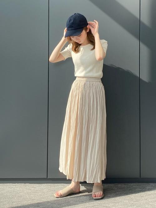 ユニクロ スカート 大人ファッション3