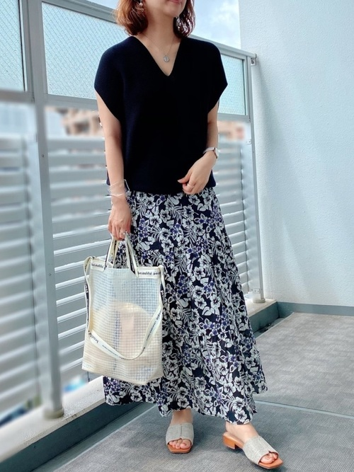 夏 GU スカート1