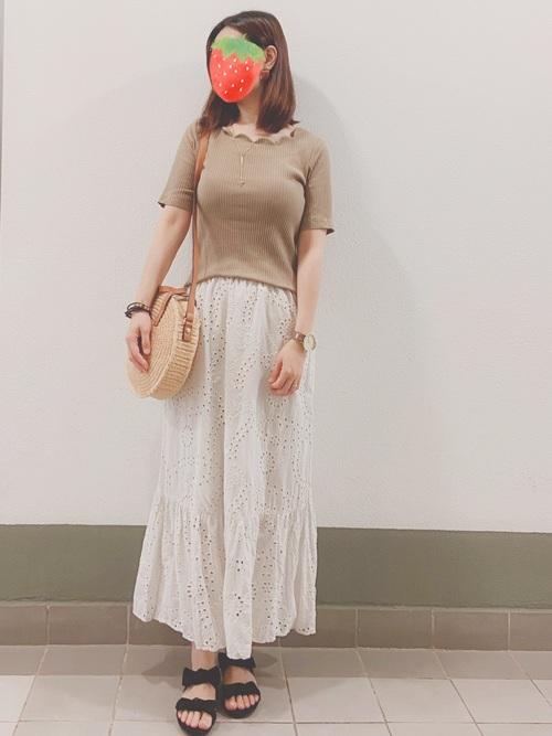 【GU】スカートスタイル4