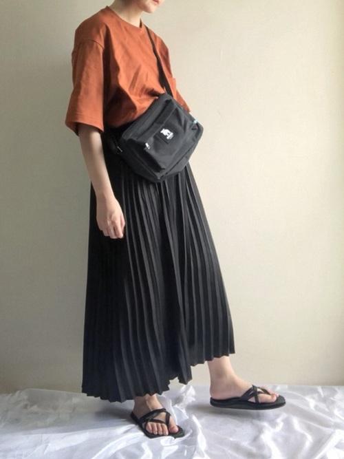 【GU】スカートスタイル