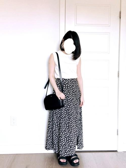 [tiptop+pocket] 【web限定】アソートAラインロングスカート