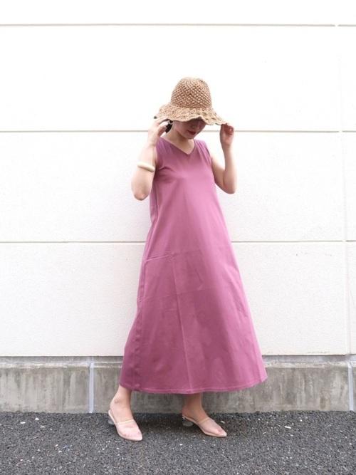 ユニクロ ワンピース 大人ファッション3