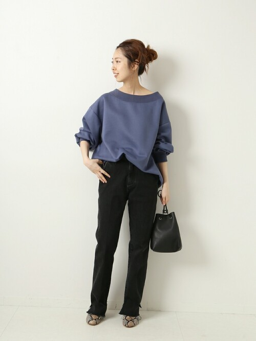 [Spick & Span] 【5 1/2】 BEAUTY-LINE SLIT DENIM◆