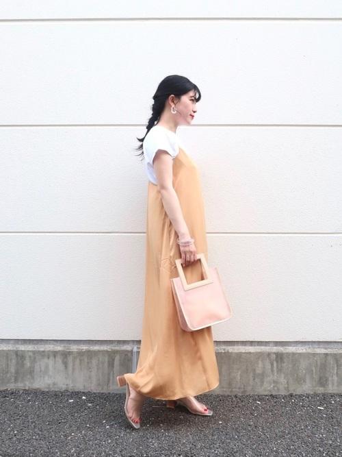 ユニクロ ワンピース 大人ファッション4