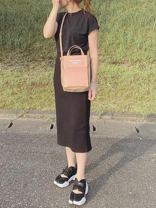 ユニクロ スカート 大人ファッション2