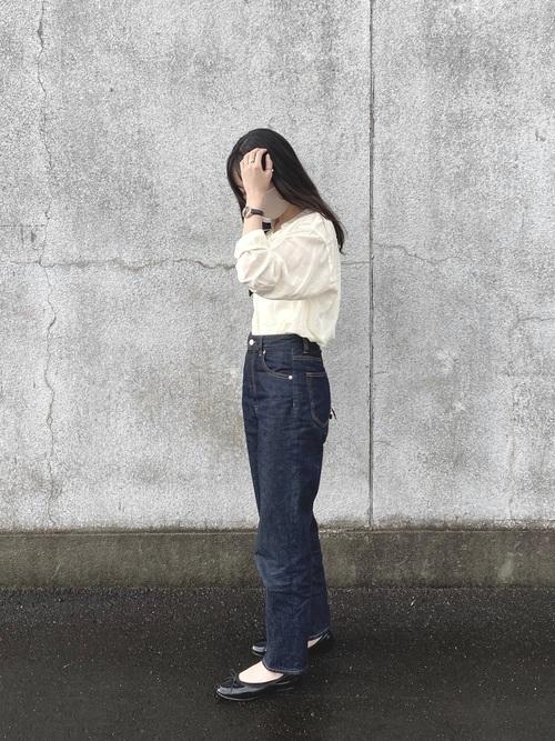 ユニクロ トップス コーデ3