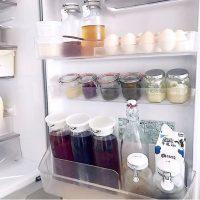 冷蔵庫のドアポケット収納アイデア特集!狭いスペースを100%活用する使い方!