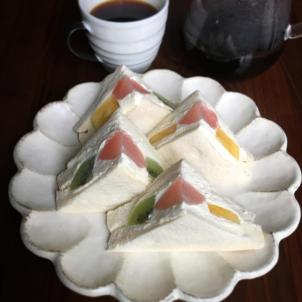 人気のパンスイーツレシピ!サンドイッチ