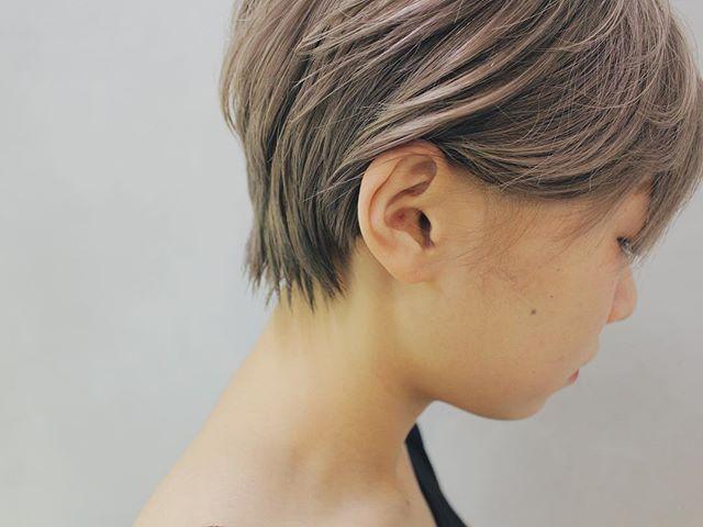 ショートヘアに合う春の髪色5