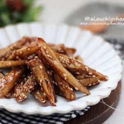 ごぼうの美味しい常備菜15