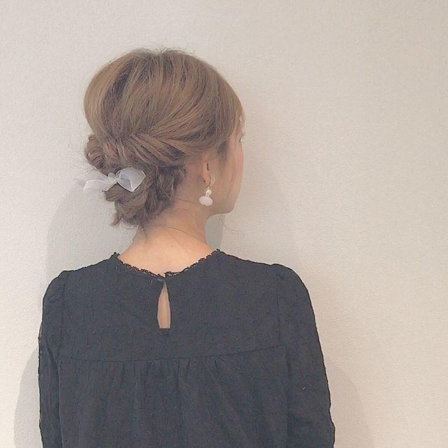 自分でできる結婚式の髪型