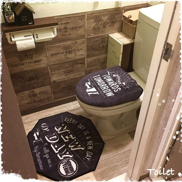 かっこいいトイレにセルフリノベーション