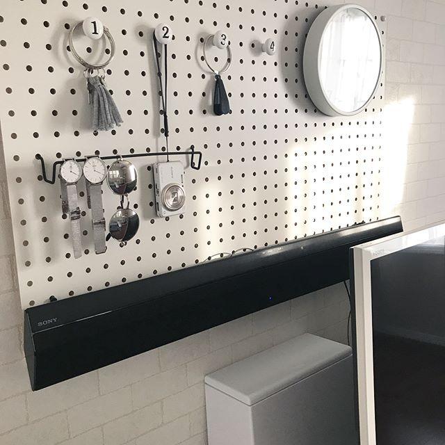 【壁】吊るす収納に使える小物やアイデア3