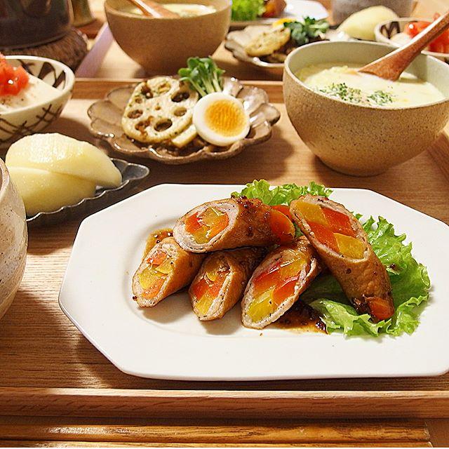 パプリカの美味しい常備菜レシピ☆お弁当5