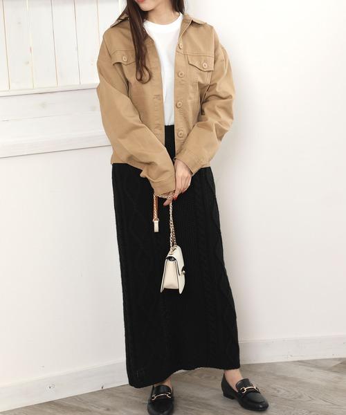 【北海道】10月におすすめの服装《スカート》14