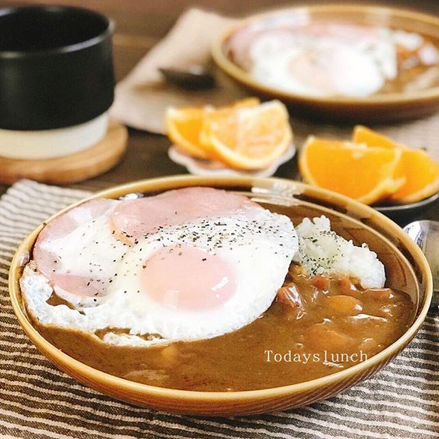 がっつり朝食メニュー!朝カレー