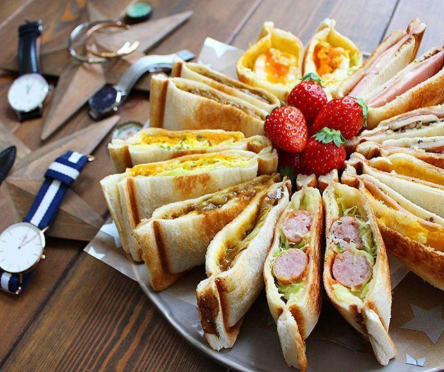 キャンプの朝食におすすめ!ホットサンド