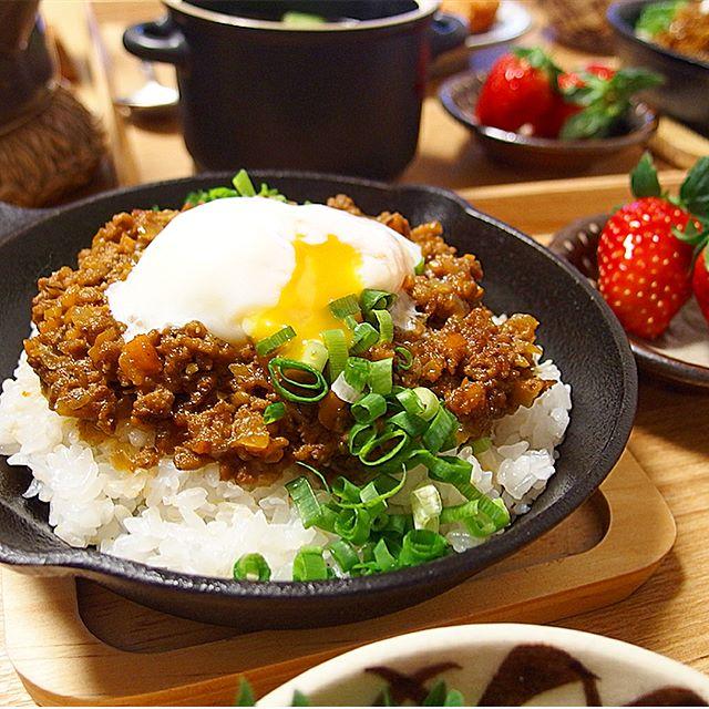 スパイスカレーの本格的なレシピ☆ひき肉・サバ10