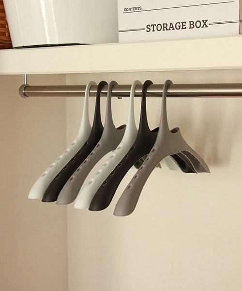 洗濯ものの乾きも早くなる機能ハンガー