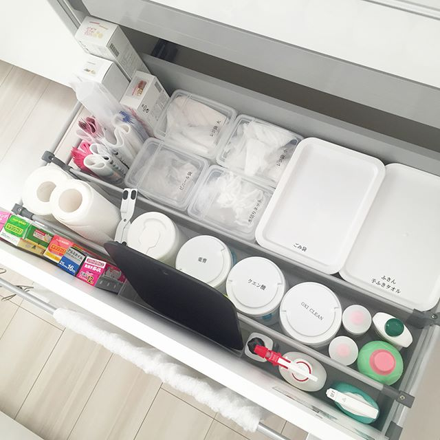 消耗品のストック収納《キッチン用品》5