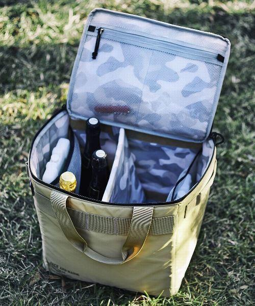 保冷剤ポケット×3で保冷効果が長時間持続