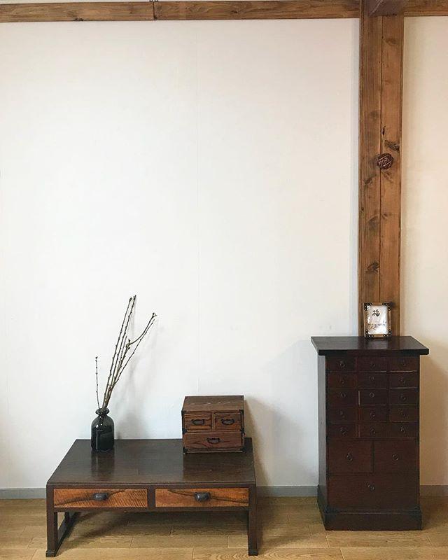和家具が素敵な古民家インテリア