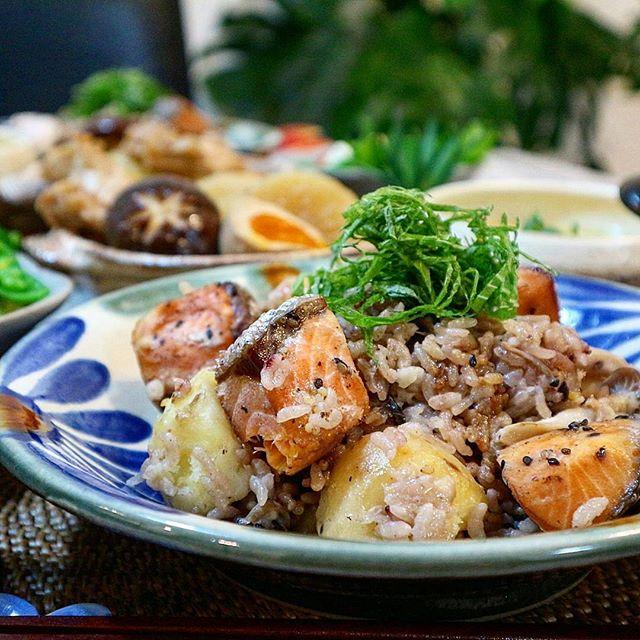 炊き込みご飯の簡単アレンジレシピ☆主食7