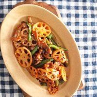 れんこんの常備菜レシピ特集!人気の煮物やきんぴらを簡単まとめて作り置き♪