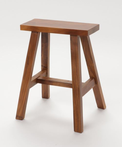 [a.depeche] acacia rectangle stool / アカシア レクタングルスツール