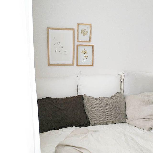北欧寝室インテリア実例《ナチュラル》4