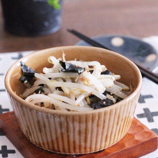 もやしの簡単な常備菜レシピ☆副菜5
