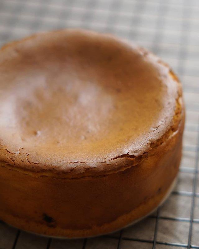 簡単にアレンジ!バスクバーン風チーズケーキ
