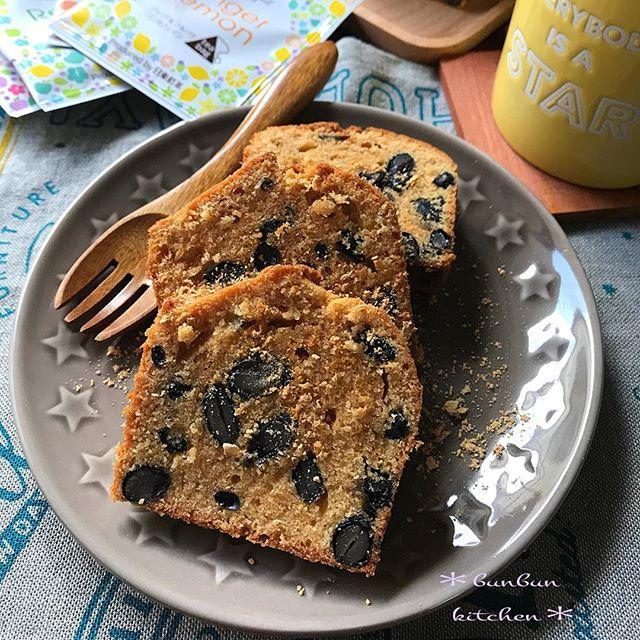 パウンドケーキの人気アレンジレシピ《ヘルシー》3