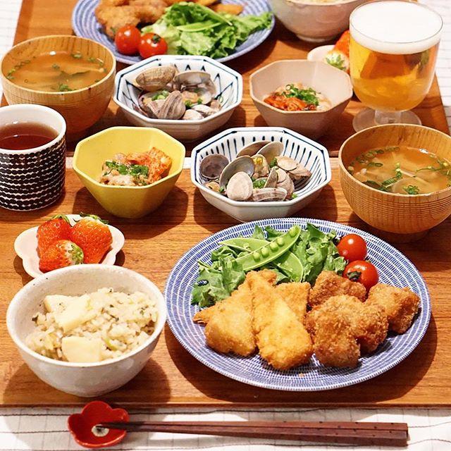 炊き込みご飯の簡単アレンジレシピ☆主食6