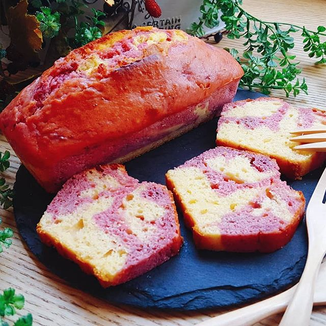パウンドケーキの人気アレンジレシピ《フルーツ》3