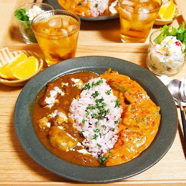 スパイスカレーの本格的なレシピ☆鶏・豚・牛12