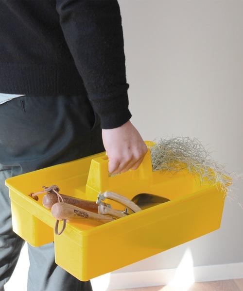 使い勝手抜群のハンドル付き収納ボックス