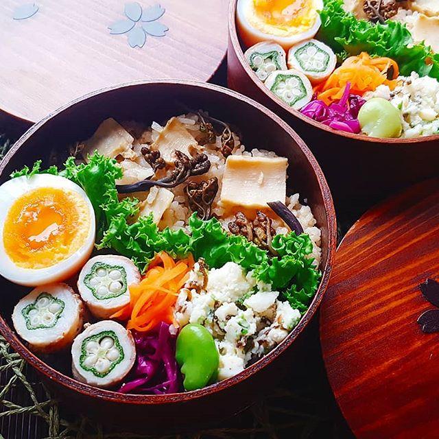 炊き込みご飯の簡単アレンジレシピ☆お弁当4