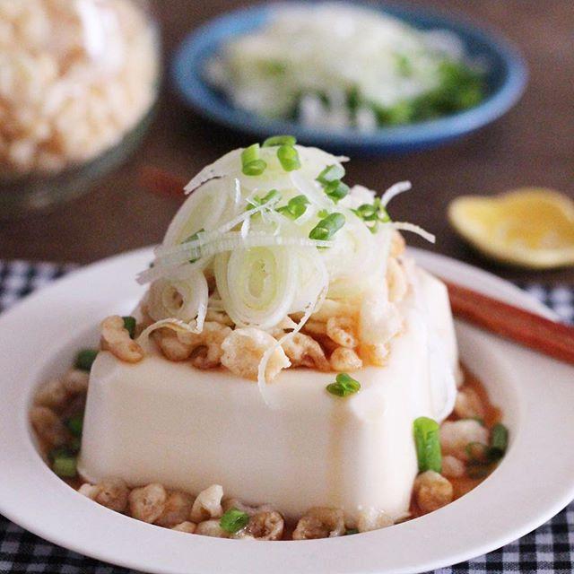 冷奴の簡単美味しいアレンジレシピ☆副菜3