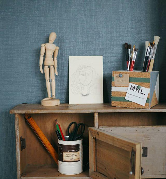 書斎のレイアウト実例《小物》3