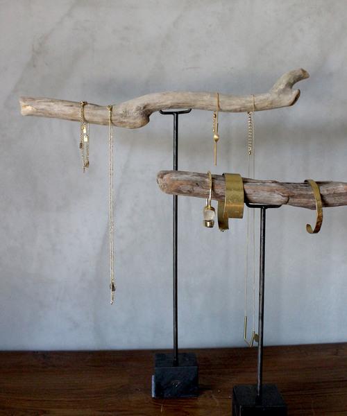 [a.depeche] driftwood stand L / 流木材什器 / アクセサリーウッドスタンド