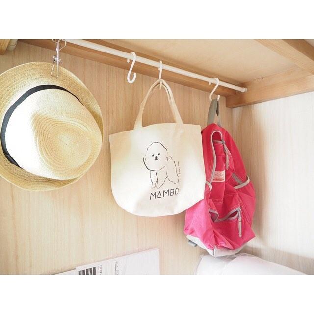 【棚】吊るす収納に使える小物やアイデア