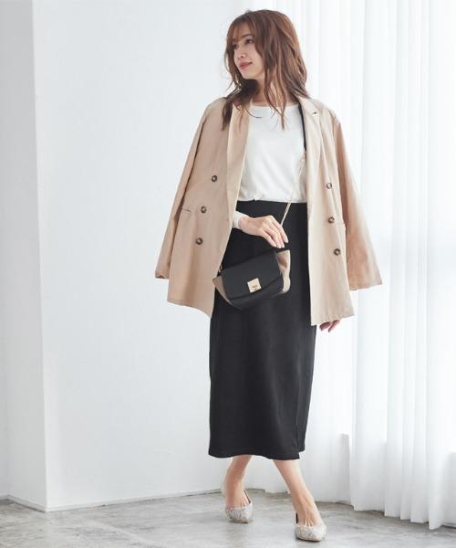 [Pierrot] ロングタイトスカート