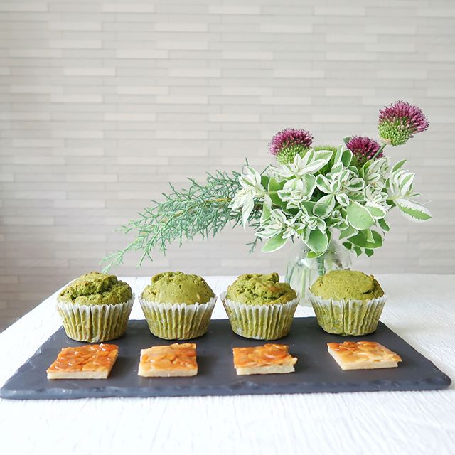 洋菓子スイーツのレシピ!人気の抹茶マフィン