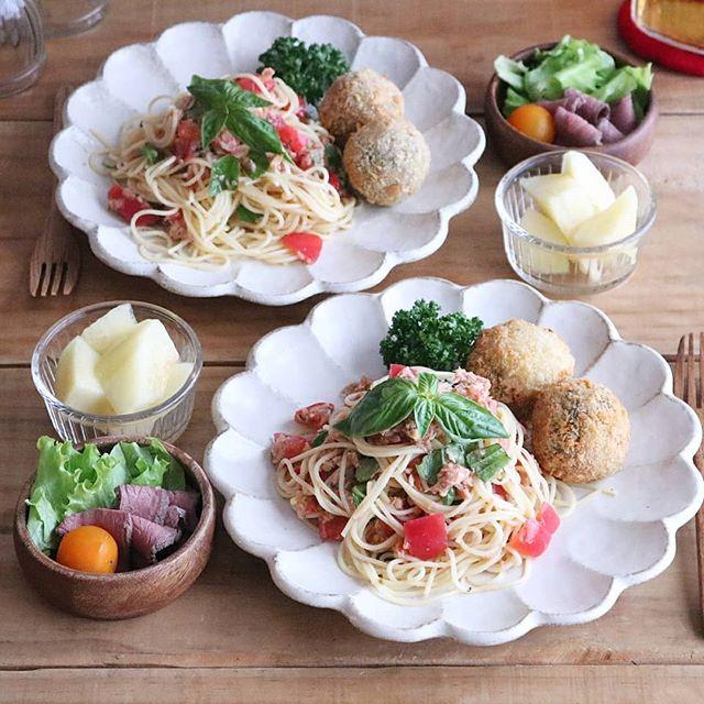 夏におすすめレシピ!ツナとトマトの冷製パスタ