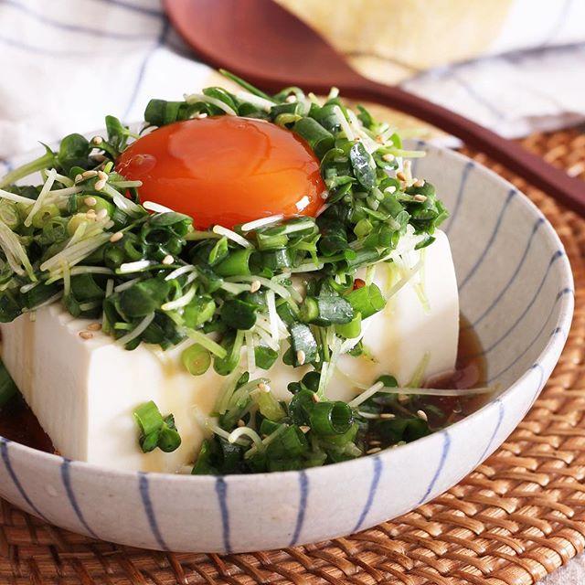 冷奴の簡単美味しいアレンジレシピ☆おつまみ3